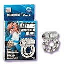 Виброкольцо с 10 шариками Maximus Ring 10 Stroker Beads