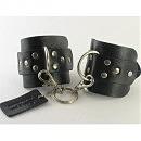Кожаные наручники  Cuffs HC-1