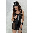 Платье полицейского Polly — черное