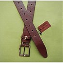 Кожаный ремень для бандажа