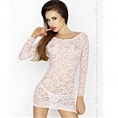 Платье — сетка YOLANDA CHEMISE pink от Passion