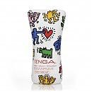 Мастурбатор «Tenga» Keith Haring Soft Tube Cup 15,5 x 6,9 см