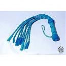 Плеть кошка девятихвостая, бирюзовая от «UMKA»