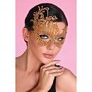 Эротическая маска  LC, золотая