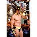 Мужской эротический костюм пожарного «Пылающий Стивен», S/M