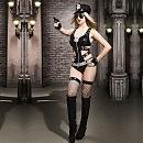 Эротический костюм полицейского «Ненасытная Николь», S/M