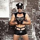 Мужской эротический костюм полицейского «Капитан Беспринципность», S/M