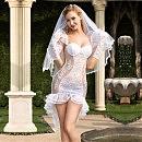 Эротический костюм невесты, S/M