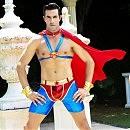 Эротический костюм непобедимого «Супермена», L/XL