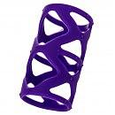 Рельефная насадка A-Toys Purple Sleeve, 7 х 3 см