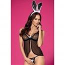 Сексуальный костюм 815-CST-1 Bunny Obsessive, черный