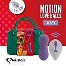 Виброяйцо Remote Controlled Motion Love Balls Jivy от Feelztoys