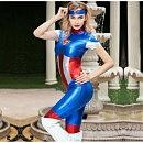 Эротический костюм «Отважная Supergirl»