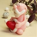 Мыло ручной работы Дед мороз с Шапочкой