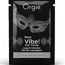 Пробник стимулирующего геля для двоих Orgie Liquid Vibrator high voltage, 2 мл