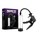 Вакуумная помпа для увеличения пениса Powerpump PRO 02 Clear, 22 х 6 см