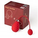Смарт-виброяйцо Magic Motion Sundae Red, 6,5 х 3,5 см