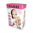 Надувная кукла «Barbi-3D» со вставкой из киберкожи и вибростимуляцией, 160 см