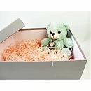 Коробка подарочная серая