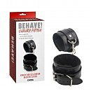 Наручники Chisa Behave Luxury Fetish Obey Me Leather Hand Cuffs