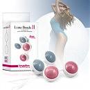Вагинальные шарики Kegel Ball Blue, 3,8 см
